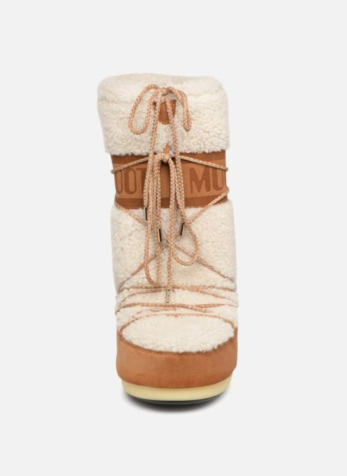Chaussures de sport Moon Boot Moon Boot Wool Blanc vue portées chaussures