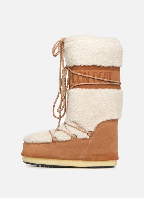 Chaussures de sport Moon Boot Moon Boot Wool Blanc vue face