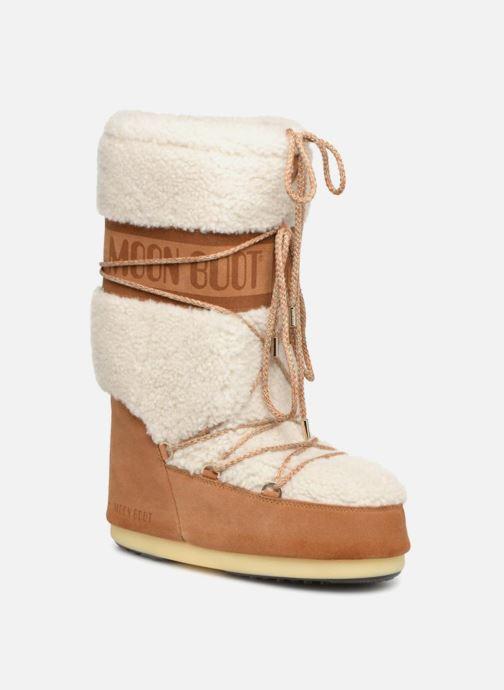 Chaussures de sport Moon Boot Moon Boot Wool Blanc vue détail/paire