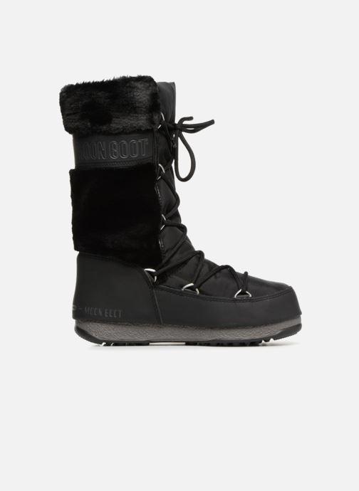 Chaussures de sport Moon Boot Moon Boot Monaco Fur Wp Noir vue derrière