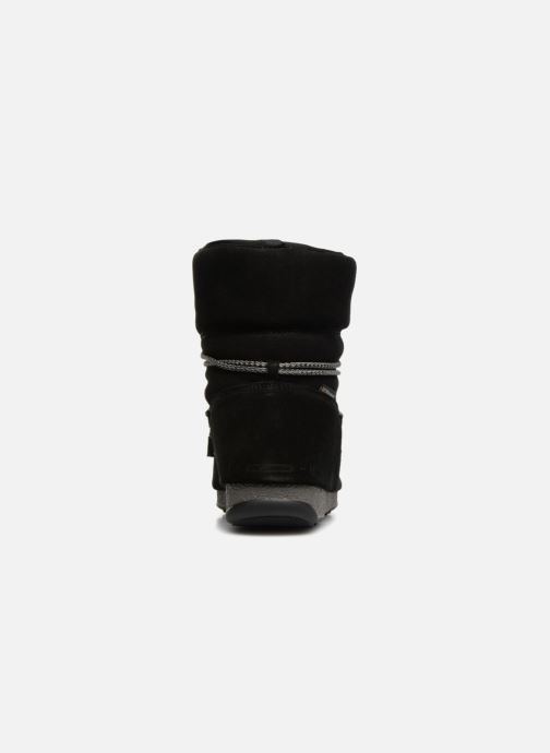 Chaussures de sport Moon Boot Moon Boot Low Suede Wp Noir vue droite