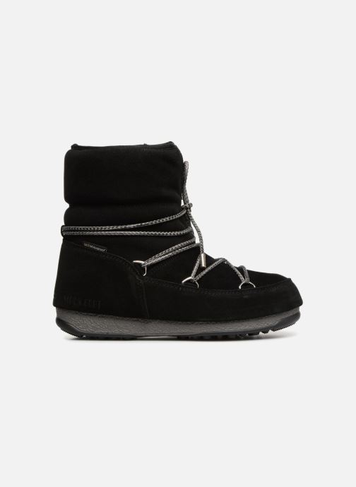Sport shoes Moon Boot Moon Boot Low Suede Wp Black back view