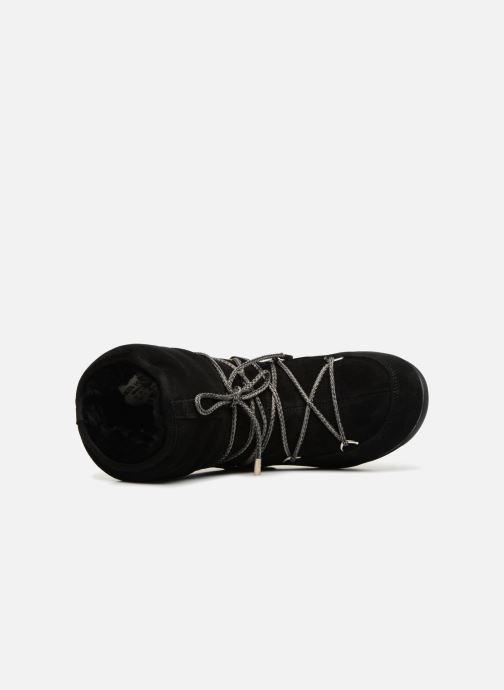 Chaussures de sport Moon Boot Moon Boot Low Suede Wp Noir vue gauche