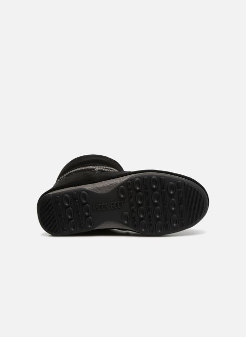 Sport shoes Moon Boot Moon Boot Low Suede Wp Black view from above
