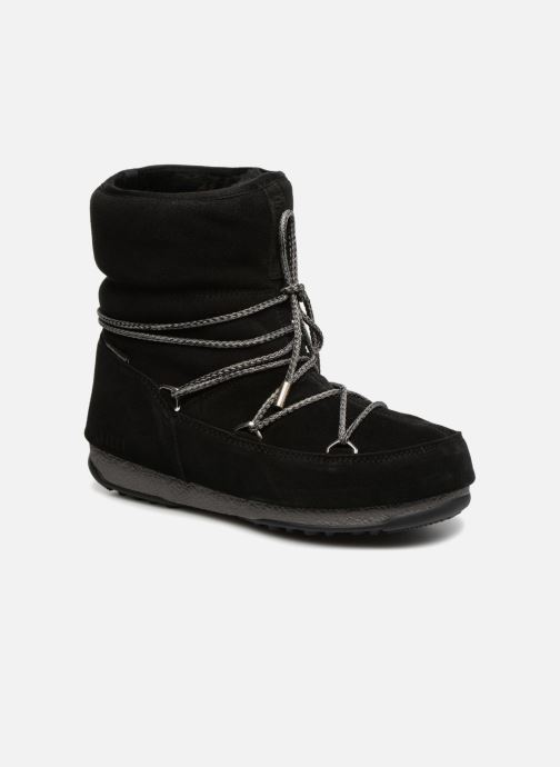 Sport shoes Moon Boot Moon Boot Low Suede Wp Black detailed view/ Pair view