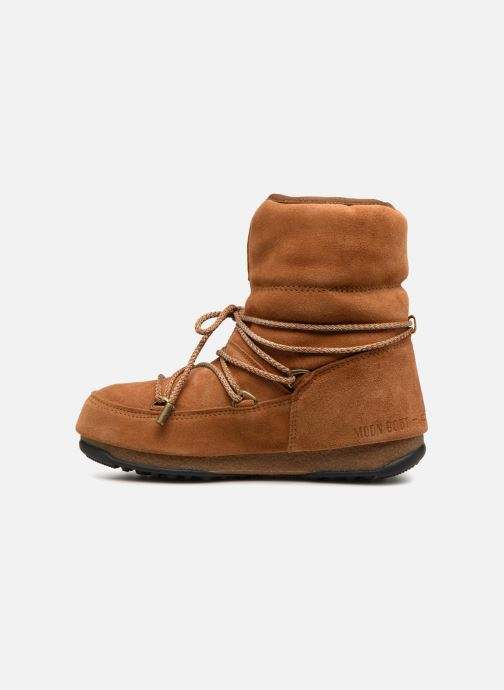 Zapatillas de deporte Moon Boot Moon Boot Low Suede Wp Marrón vista de frente