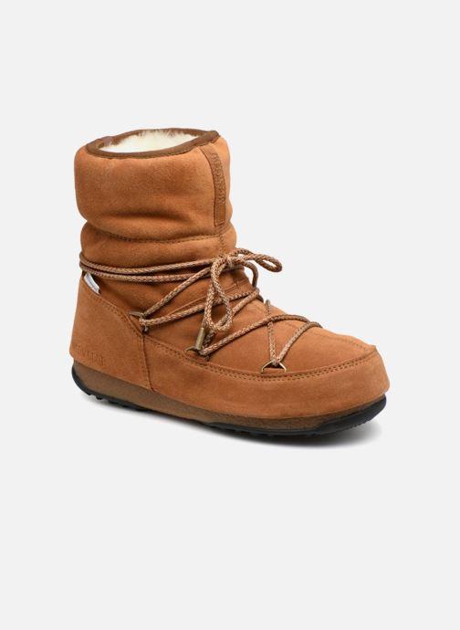 Scarpe sportive Moon Boot Moon Boot Low Suede Wp Marrone vedi dettaglio/paio