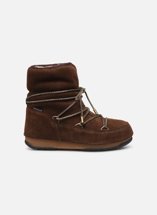 Chaussures de sport Moon Boot Moon Boot Low Suede Wp Marron vue derrière