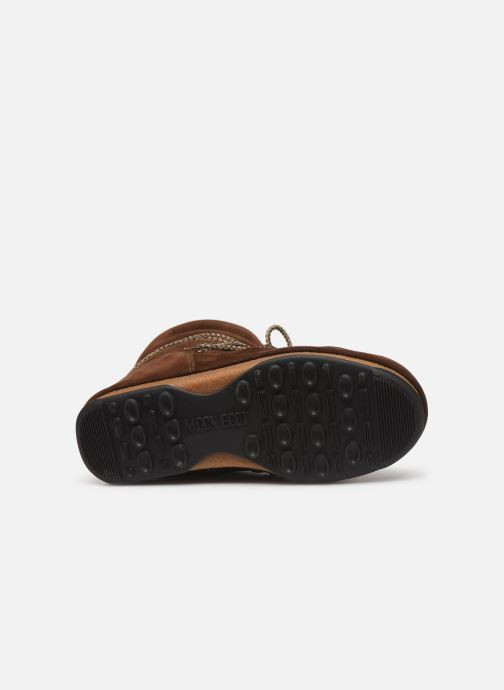 Chaussures de sport Moon Boot Moon Boot Low Suede Wp Marron vue haut