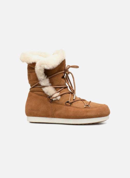 Sportschoenen Moon Boot Moon Boot Far Side HIigh Shearling Bruin achterkant