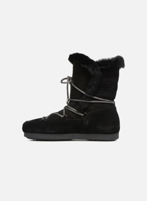 Sportschoenen Moon Boot Moon Boot Far Side HIigh Shearling Zwart voorkant