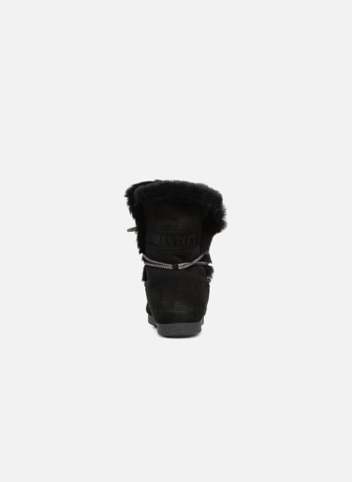 Chaussures de sport Moon Boot Moon Boot Far Side HIigh Shearling Noir vue droite