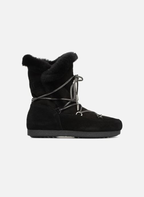 Chaussures de sport Moon Boot Moon Boot Far Side HIigh Shearling Noir vue derrière