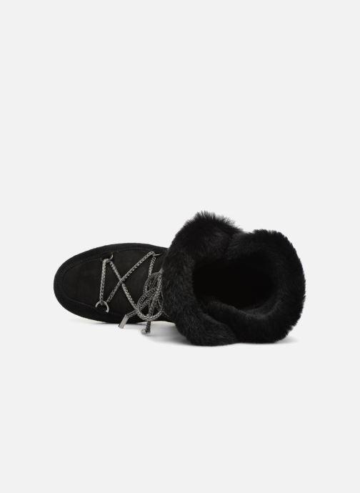 Chaussures de sport Moon Boot Moon Boot Far Side HIigh Shearling Noir vue gauche