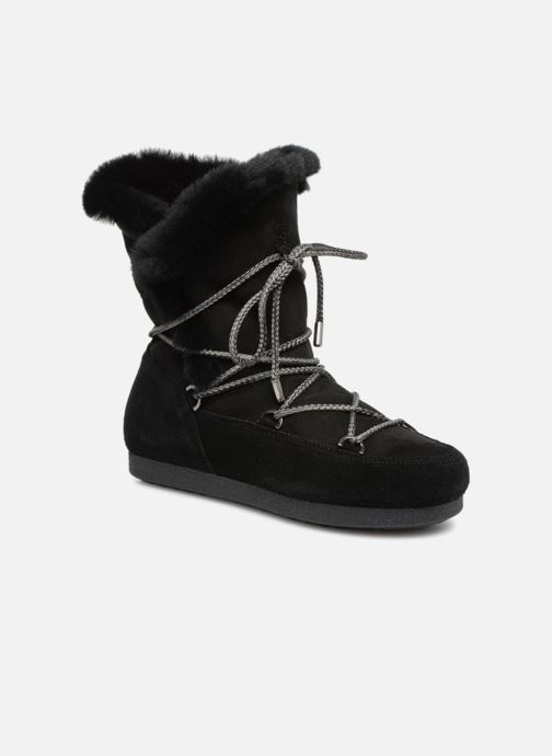 Sportschoenen Moon Boot Moon Boot Far Side HIigh Shearling Zwart detail
