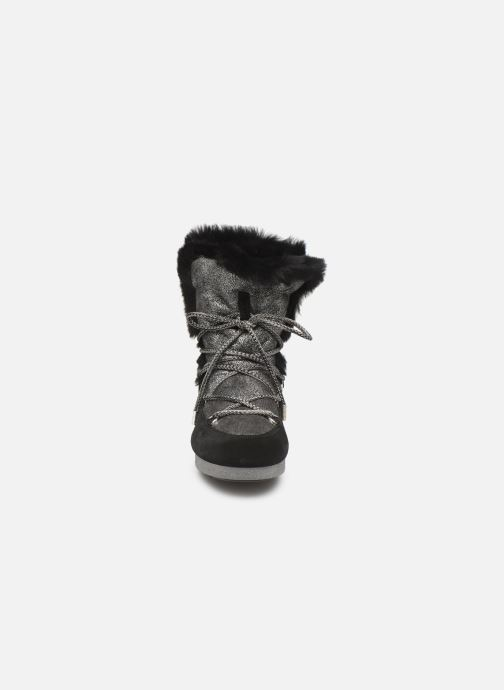 Chaussures de sport Moon Boot Moon Boot Far Side HIigh Shearling Argent vue portées chaussures