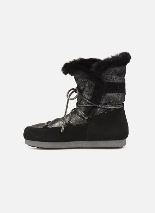 Zapatillas de deporte Moon Boot Moon Boot Far Side HIigh Shearling Plateado vista de frente