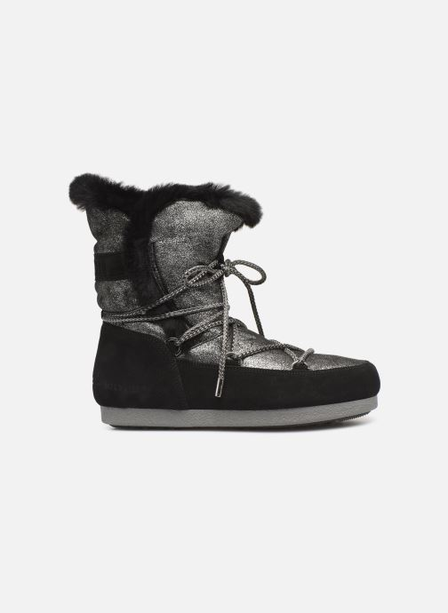 Sport shoes Moon Boot Moon Boot Far Side HIigh Shearling Silver back view