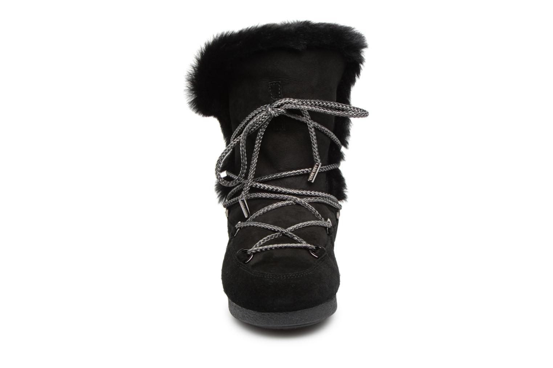 Chaussures de sport Moon Boot Moon Boot Far Side HIigh Shearling Noir vue portées chaussures