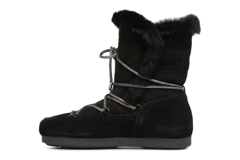 Chaussures de sport Moon Boot Moon Boot Far Side HIigh Shearling Noir vue face