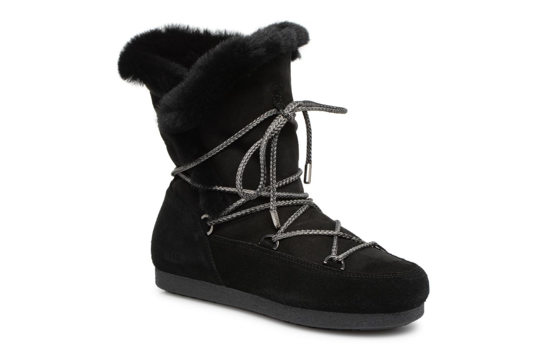 Chaussures de sport Moon Boot Moon Boot Far Side HIigh Shearling Noir vue détail/paire