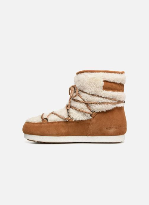 Chaussures de sport Moon Boot Moon Boot Far Side Low Shearling Marron vue face
