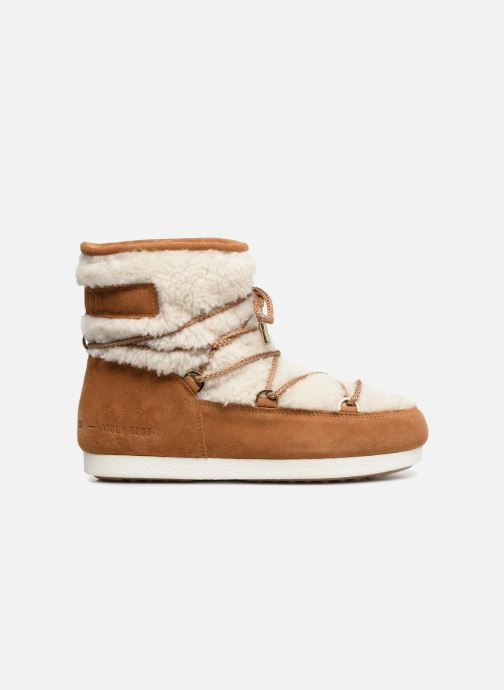 Chaussures de sport Moon Boot Moon Boot Far Side Low Shearling Marron vue derrière
