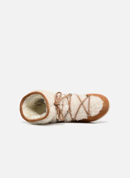 Chaussures de sport Moon Boot Moon Boot Far Side Low Shearling Marron vue gauche