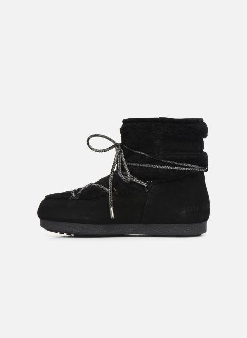 Chaussures de sport Moon Boot Moon Boot Far Side Low Shearling Noir vue face
