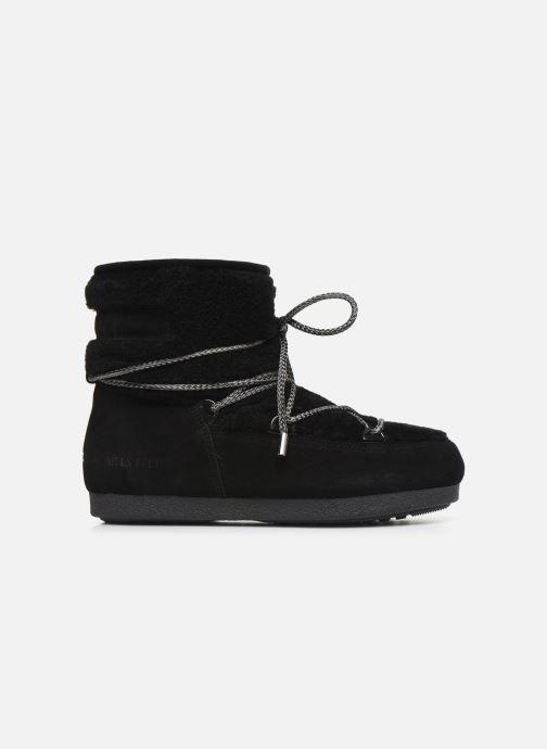Chaussures de sport Moon Boot Moon Boot Far Side Low Shearling Noir vue derrière