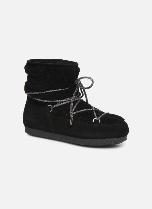 Chaussures de sport Moon Boot Moon Boot Far Side Low Shearling Noir vue détail/paire