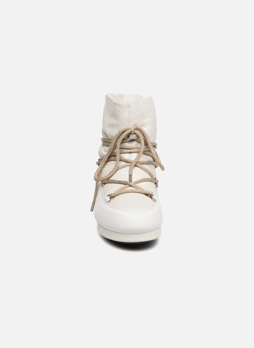 Chaussures de sport Moon Boot Moon Boot Far Side Low Sh Pearl Blanc vue portées chaussures