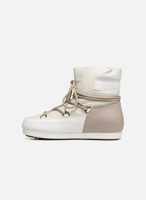 Chaussures de sport Moon Boot Moon Boot Far Side Low Sh Pearl Blanc vue face