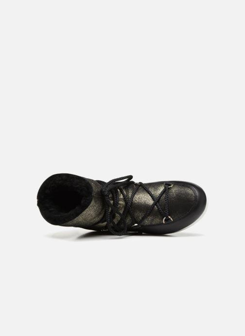 Chaussures de sport Moon Boot Moon Boot Far Side Low Sh Stardust Noir vue gauche