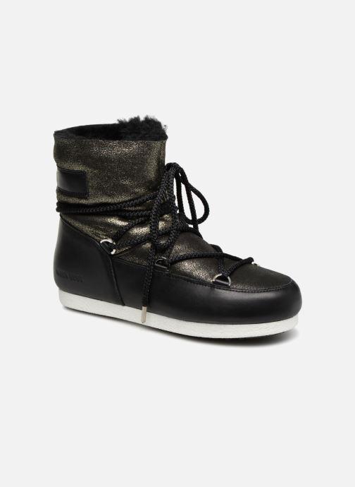 Moon Boot Far Side Low Sh Stardust (negro) - Zapatillas De Deporte Chez