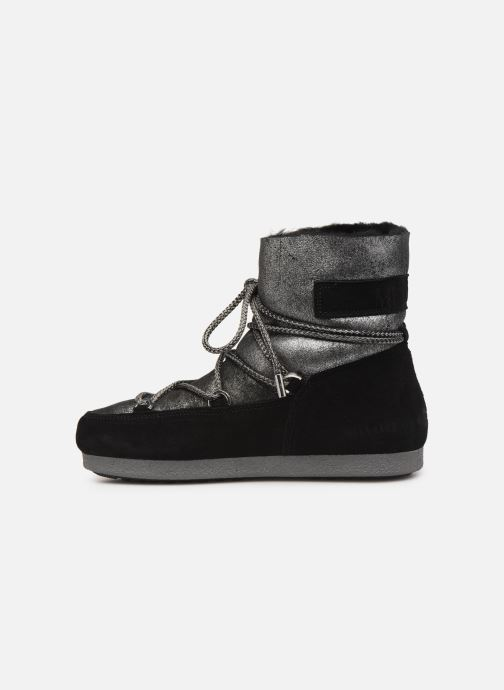 Sport shoes Moon Boot Moon Boot Far Side Low Sh Stardust Black front view