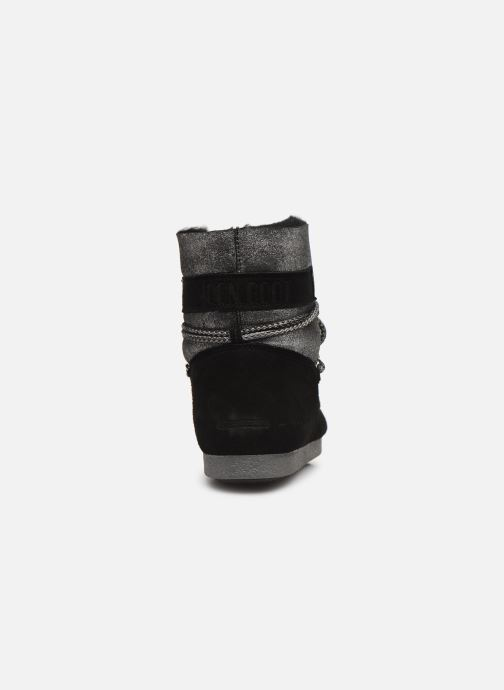 Sport shoes Moon Boot Moon Boot Far Side Low Sh Stardust Black view from the right