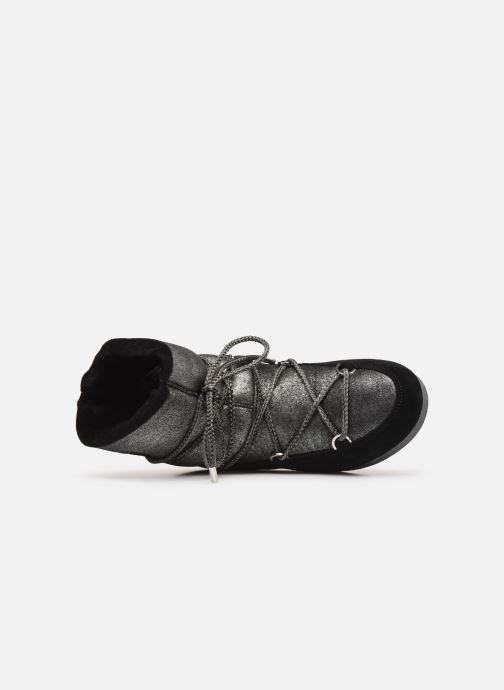 Sport shoes Moon Boot Moon Boot Far Side Low Sh Stardust Black view from the left