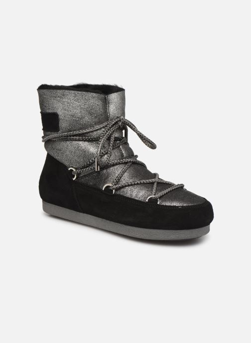 Chaussures de sport Moon Boot Moon Boot Far Side Low Sh Stardust Noir vue détail/paire