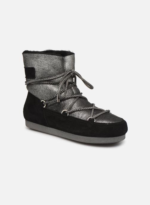 Chaussures de sport Moon Boot Moon Boot Far Side Low Sh Stardust Noir vue détail/paire