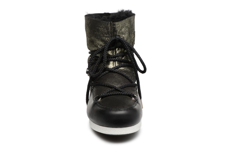 Chaussures de sport Moon Boot Moon Boot Far Side Low Sh Stardust Noir vue portées chaussures