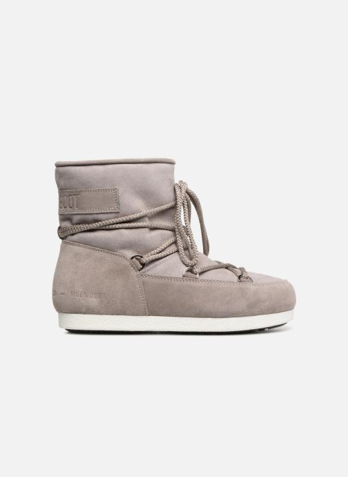 Sport shoes Moon Boot Moon Boot Far Side Low Suede Glitter Grey back view