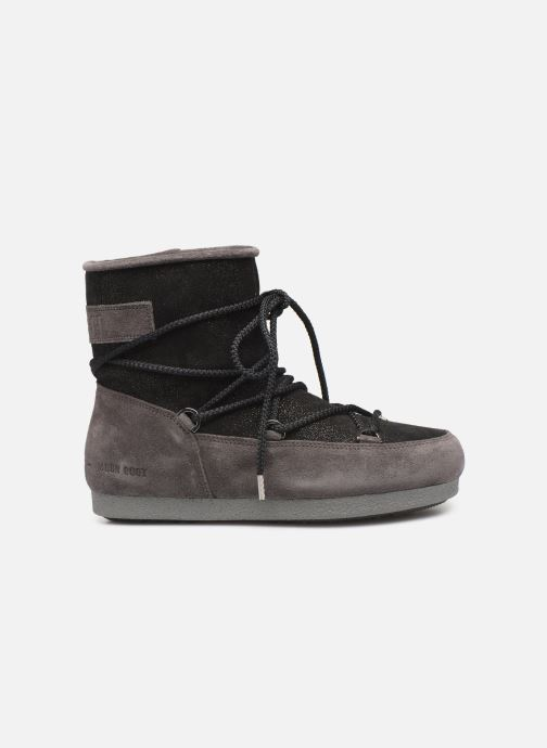 Chaussures de sport Moon Boot Moon Boot Far Side Low Suede Glitter Noir vue derrière