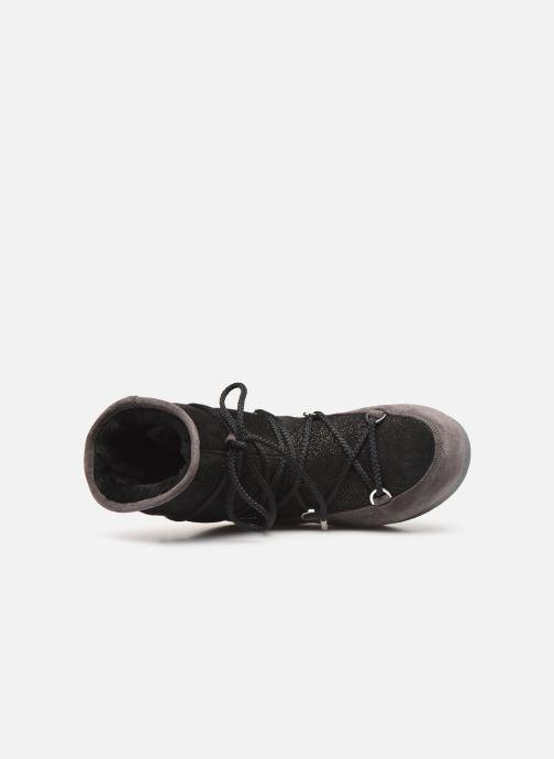 Chaussures de sport Moon Boot Moon Boot Far Side Low Suede Glitter Noir vue gauche