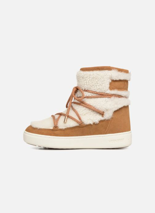 Chaussures de sport Moon Boot Moon Boot Pulse Mid Wool Beige vue face