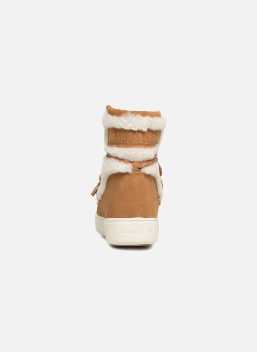 Chaussures de sport Moon Boot Moon Boot Pulse Mid Wool Beige vue droite