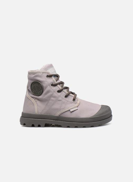 Bottines et boots Palladium Pampa Hi Tex WL Waterproof Gris vue derrière