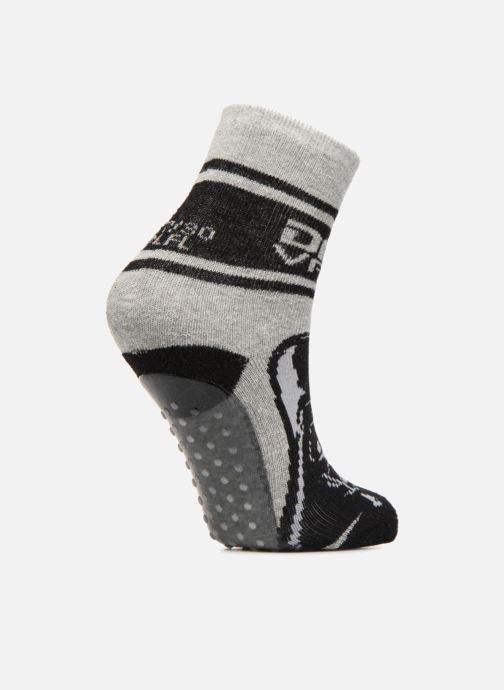 Chaussettes et collants Disney Chaussons Chaussettes Star Wars Gris vue portées chaussures