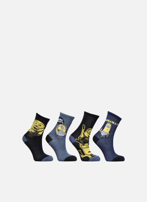 Strømper og tights Disney Chaussettes Minions Lot de 4 Multi detaljeret billede af skoene