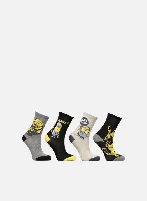 Socken & Strumpfhosen Disney Chaussettes Minions Lot de 4 grau detaillierte ansicht/modell
